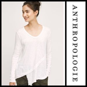 Anthropologie Sunday Morning Tunic White Top NWT